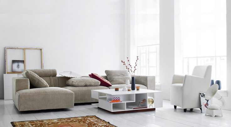 Born a classic. Named after its expression. Clean lines and uncomplicated elegance make Baseline an obvious starting point for the interior decoration of your living room. #furniture #modernfurniture #livingroom #sofa #fabricsofa