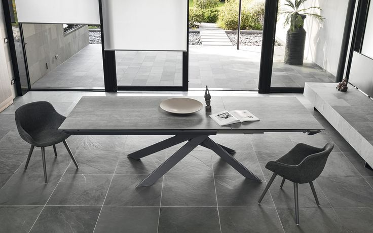 Dining table design ECLISSE - Calligaris CS/4102