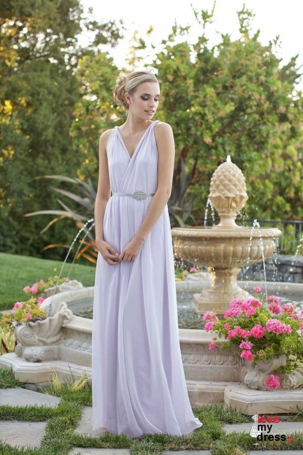 Pastelowe suknie w stylu greckim dla druhen i świadkowych