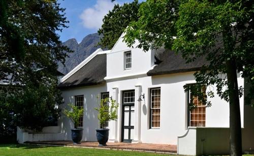 La Bri's Cape Dutch manor house @ La Bri Wine Estate, Franschhoek