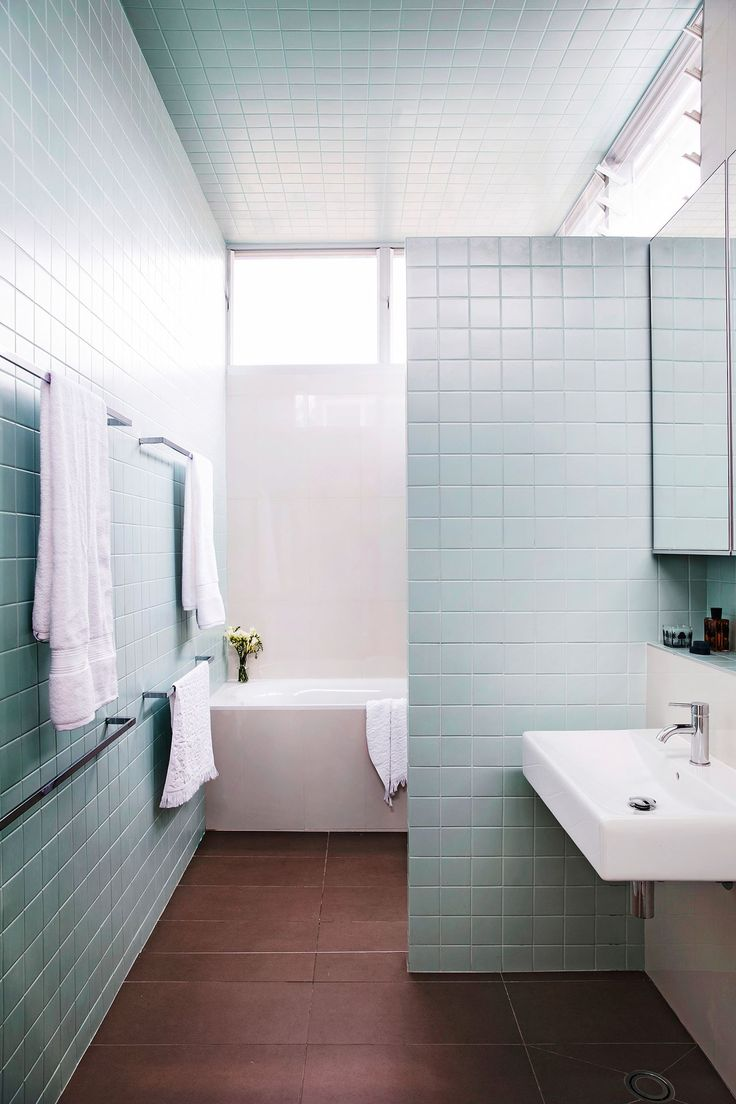 Original Gloss Duck Egg Metro Glazed Ceramic Wall Tile Suitable For Kitchens