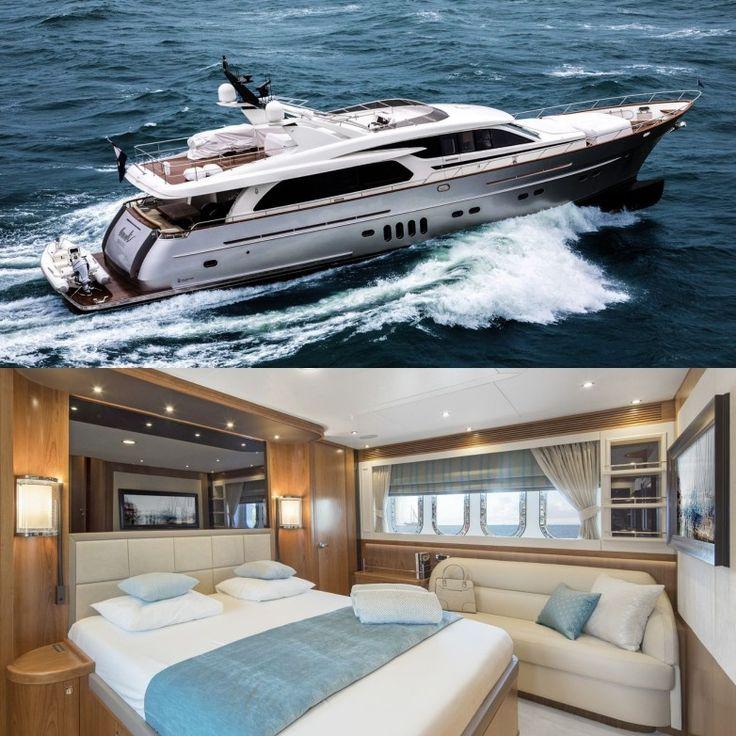 Anemeli Yacht – 28m by Van der Valk and Guido de Groot Design