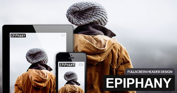 Fullscreen Header #Joomla #Template #webdesign