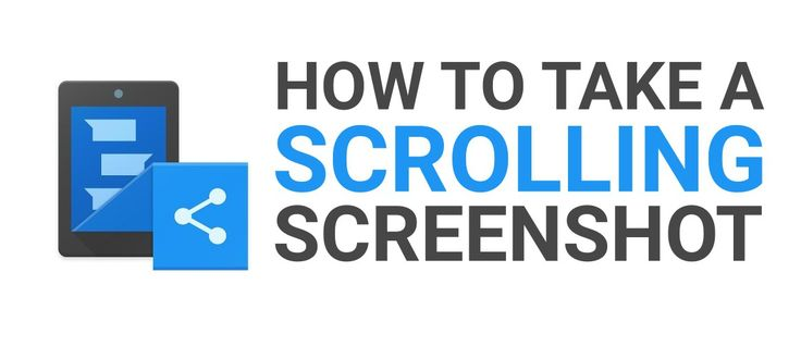 How to take a scrolling screenshot on android