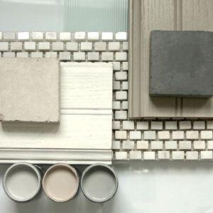 Luscious bathroom colour scheme paint tiles.jpg