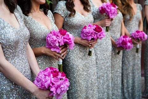 For some reason, i love the color of the bridesmaids' dresses
