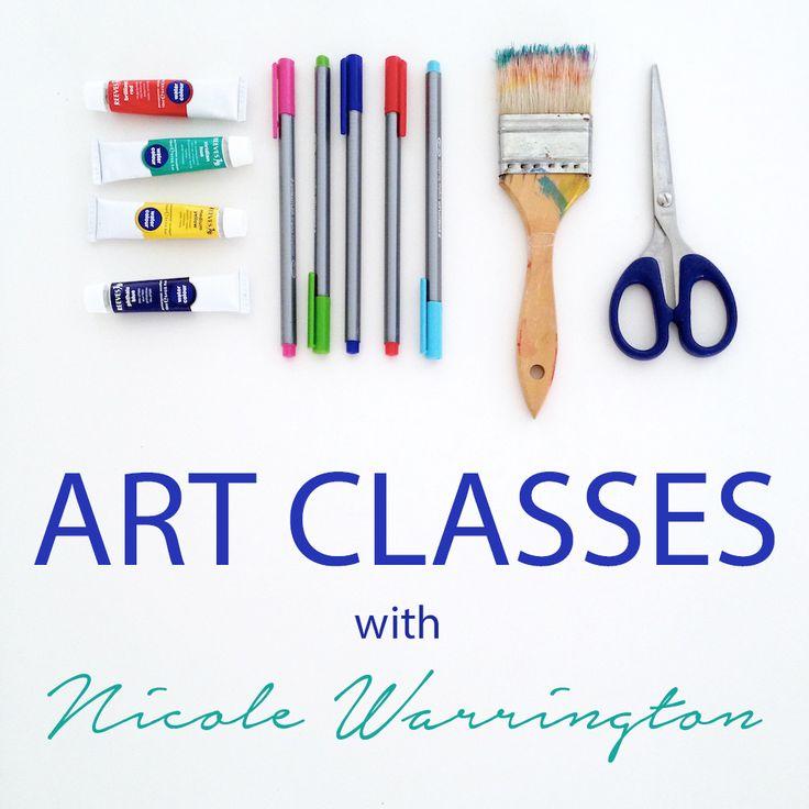 14 Best Comox Art Classes With Nicole Images On Pinterest Art