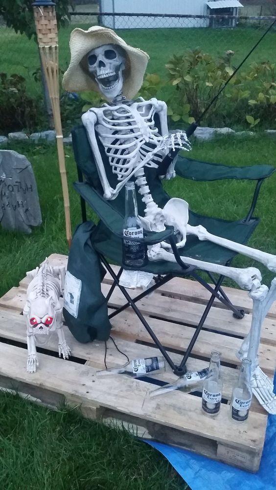 60+ Amazing Outdoor Decor Ideas For Halloween Party Halloween - pinterest halloween yard decor
