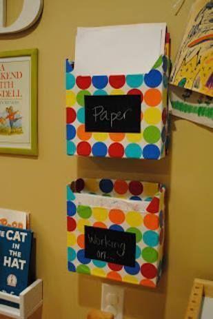 F B E Eb C Ad B A Cereal Box Storage Paper Storage