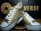 gold converse sneakers for women