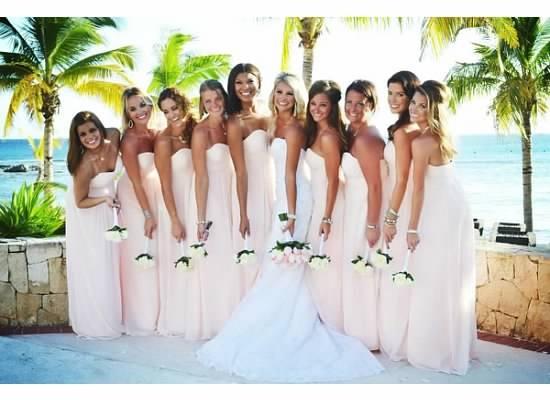 Huff Bridal Party #1 · Bridesmaid Dress ColorsDestination ...