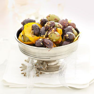 Spiced Citrus Olives