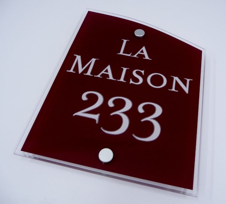 House signs Brighten your #Days withA #Sophisticated #Claret 'LA MAISON' HouseSign #create A Warm Welcome http://www.de-signage.com/house-address-plaques.php …   pic.twitter.com/YrMPk5wYFh