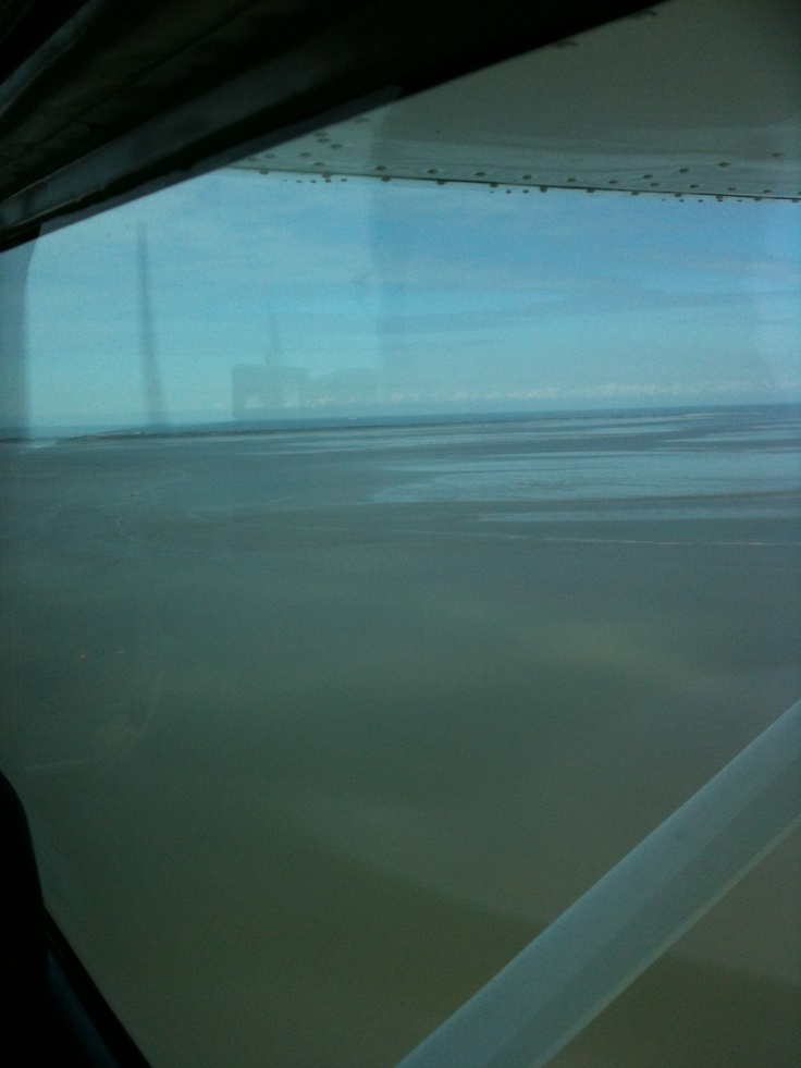 Die #Watt-Reporter genießen in 200 Metern Flughöhe die Sicht auf's #Wattenmeer! #WattWiki