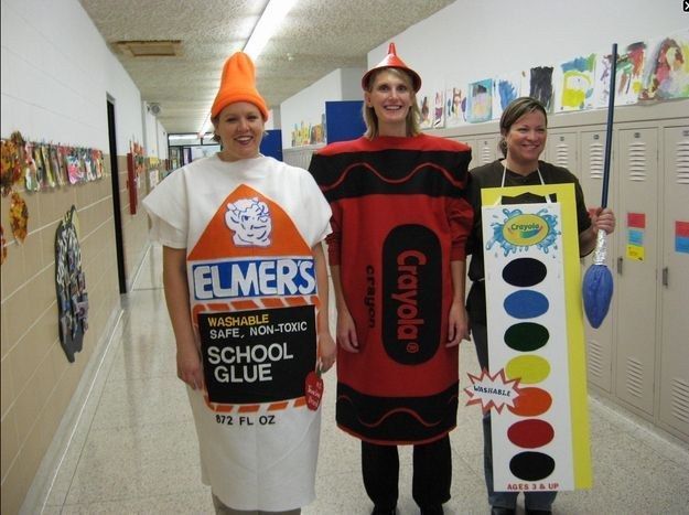 31 amazing teacher halloween costumes - Art Costumes Halloween