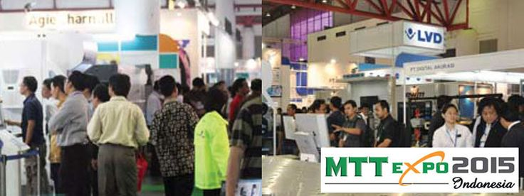 MTT Expo 2015 Indonesia - lndonesia's International Machine Tool, Metalworking & Tooling Technotogy Exhibition for the Automotive, Electronics, Precision Toobng.Mould & Die,Parts & Components, Mould & Die, Oil & gas, Marine Engineering, Automation and Supporting lndustries #ExpoIndonesia