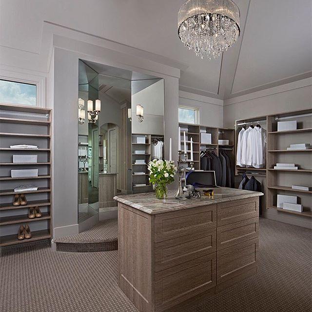 Dream closet! By Cranbrook Custom Homes