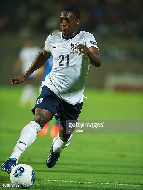 Marvin Sordell of England U21 during the UEFA EURO U21 match between England and Italy on June 5 2013 at the Bloomfield stadium at Tel Aviv Israel