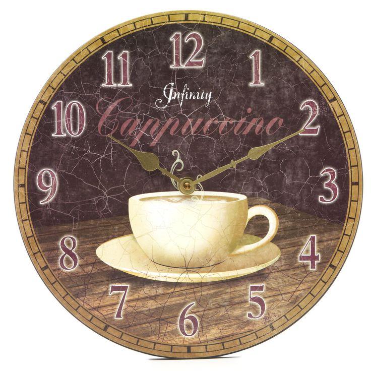 Kitchen Wall Clock Decor Ideas 37 best kitchen wall clocks images on pinterest | kitchen wall