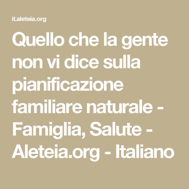 Quello che la gente non vi dice sulla pianificazione familiare naturale - Famiglia, Salute - Aleteia.org - Italiano