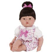 "Adora PlayTime Baby Vinyl Doll - Floral Romper 13"" Asian Girl (Ages 1+)"