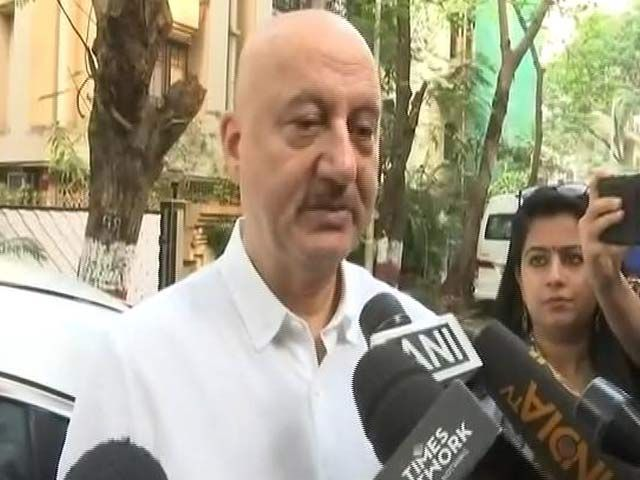 'Sridevi Will Always Live In My Memories,' Says Anupam Kher