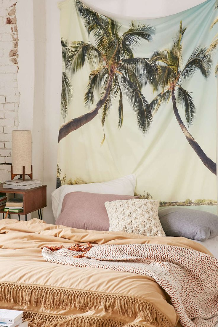 25 best ideas about beach bedrooms on pinterest beach for Space themed tapestry