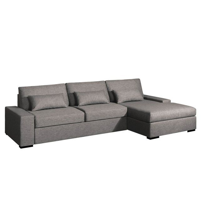 canap d angle convertible neige toile chin e bultex am pm prix avis notation livraison. Black Bedroom Furniture Sets. Home Design Ideas