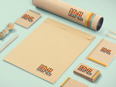 Retro Branding for Hawaiian Surf brand // HNL