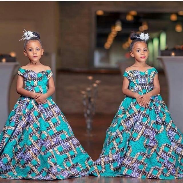 Latest Ankara styles for babies - Ankara Styles - Ankara Styles 2019    African dresses for kids, Kids designer dresses, Kids fashion dress