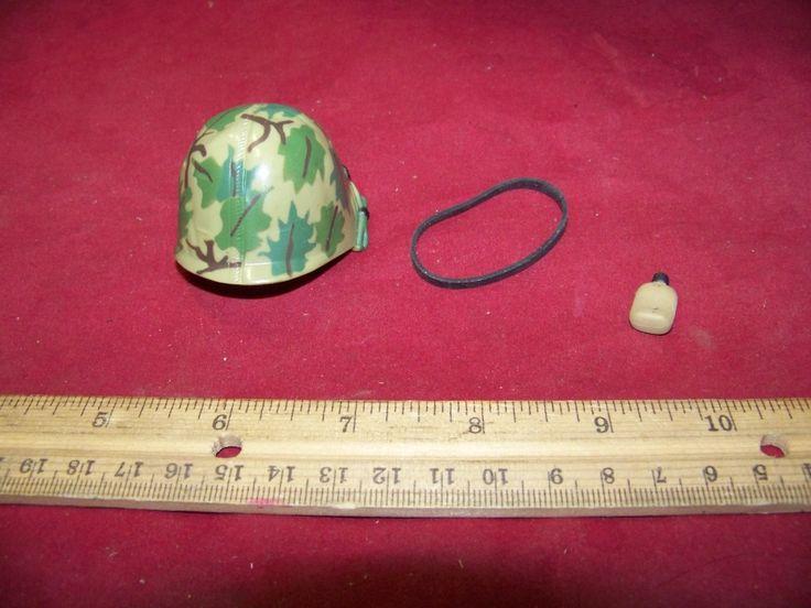 1/6 Scale 21st Century Nam Camo Helmet, Band & Bug Juice