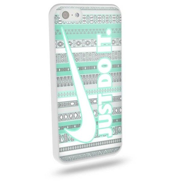 Nike Just Do It Astec Mint Blue for Iphone and Samsung Galaxy Tpu Case... ($7.88) ❤ liked on Polyvore featuring accessories, tech accessories, samsung galaxy smartphone and blue smartphone