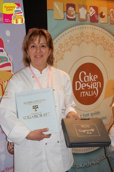 Rossella Repetto - Secondo Trofeo Fantasy Cake. Premio del Pubblico e Premio Categoria Royal Icing.