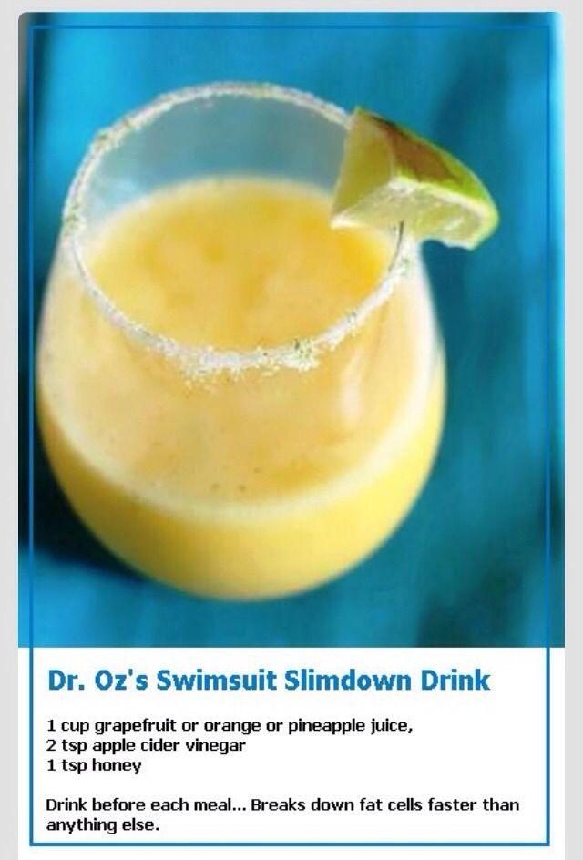 💞 Dr Oz's Slimdown Drink 💞
