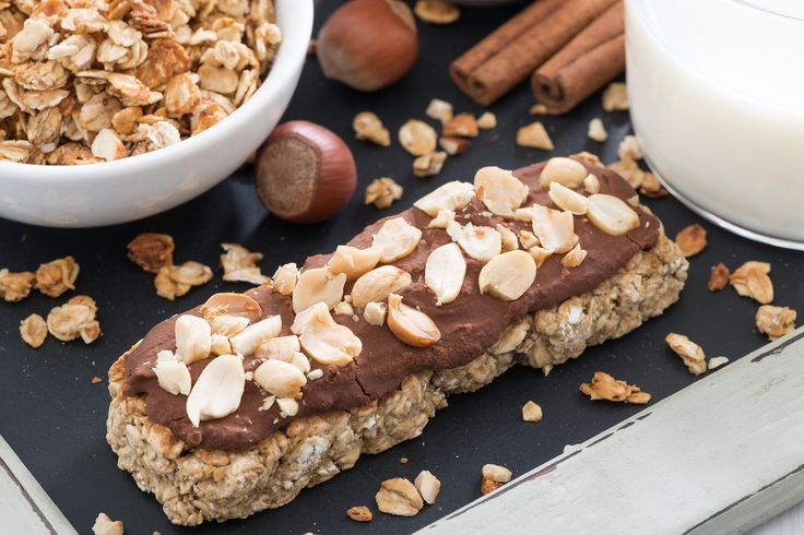 Daphne Oz's Chocolate-Almond Breakfast Bars : Find out why chia seeds and chocolate are a match made in heaven.