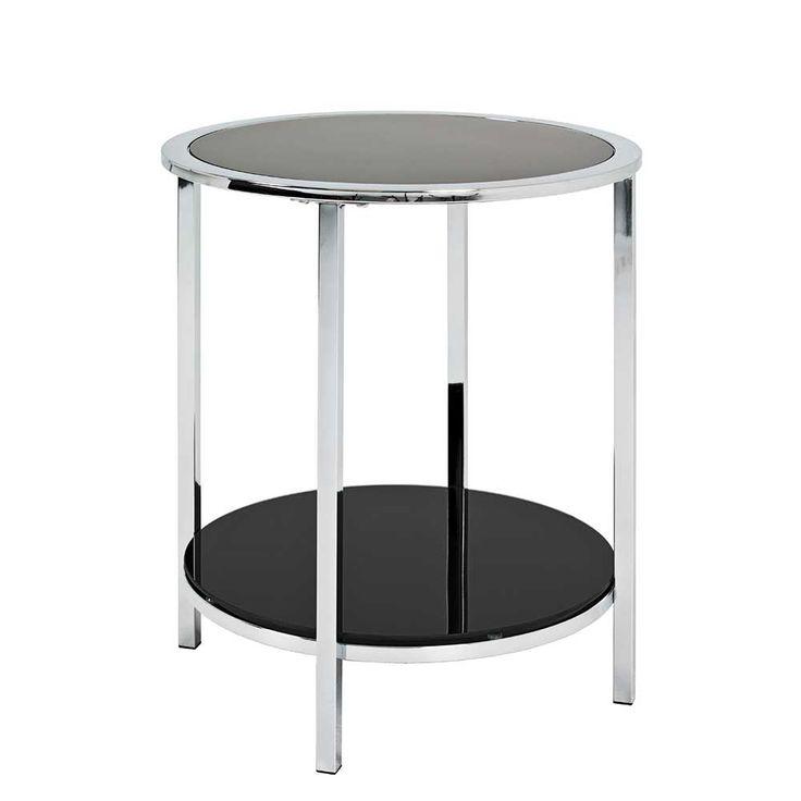 Ablagetisch In Schwarz Glas Rund Jetzt Bestellen Unter Moebelladendirektde Wohnzimmer Tische Beistelltische Uid0b48493f 5758 5a3e 9e8e