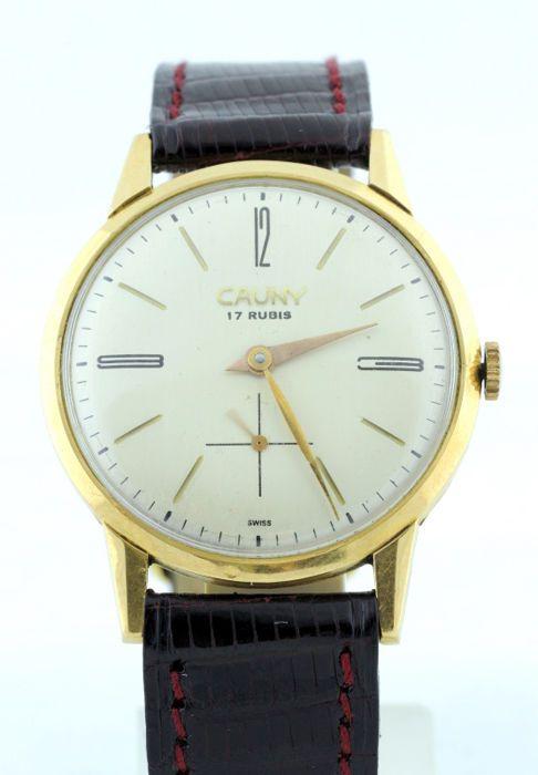 Cauny. Heren horloge. Ca.1960.  EUR 301.00  Meer informatie