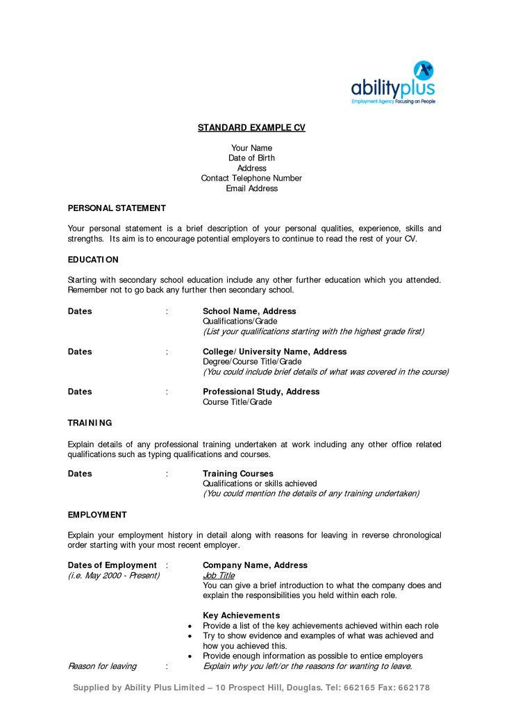 54 best Resume Templates Download images on Pinterest | Resume ...
