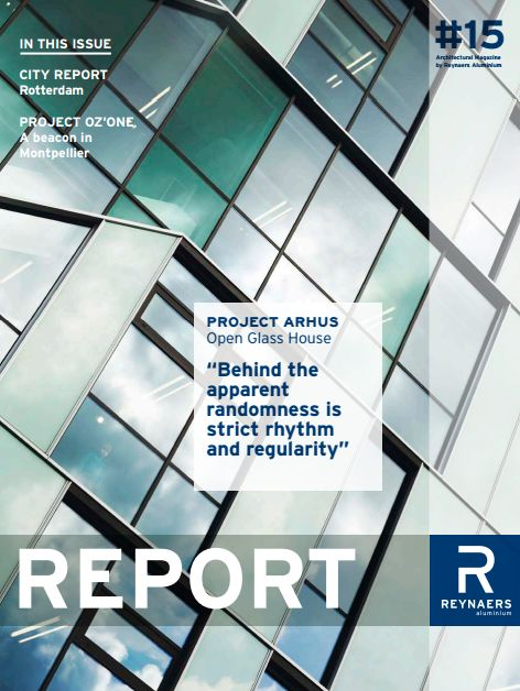 Edition #15 - The latest issue of Report - In this issue, we have a city report on Rotterdam and project case studies in Montpellier and Warsaw.