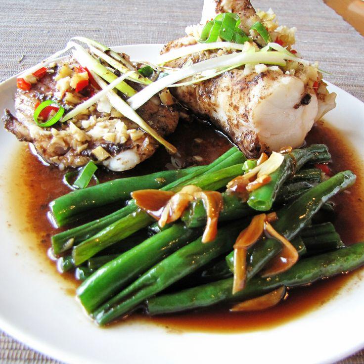 Monk Fish Recipe Baked