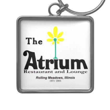 The Atrium Restaurant Rolling Meadows IL Keychain - accessories accessory gift idea stylish unique custom