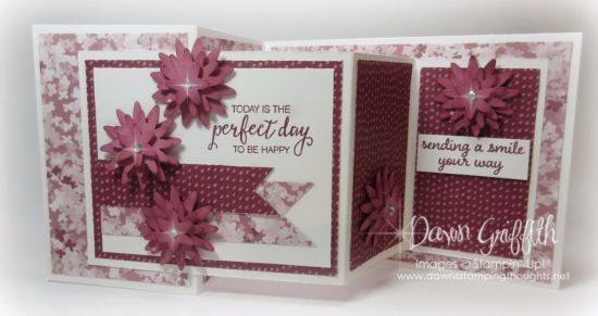 Hi Stampers, Happy Thursday friends !  I'm so excited you're here . Today we will be making the Double Z Fold card . I used a few brand new items on my cards today . I just love the greeting from the