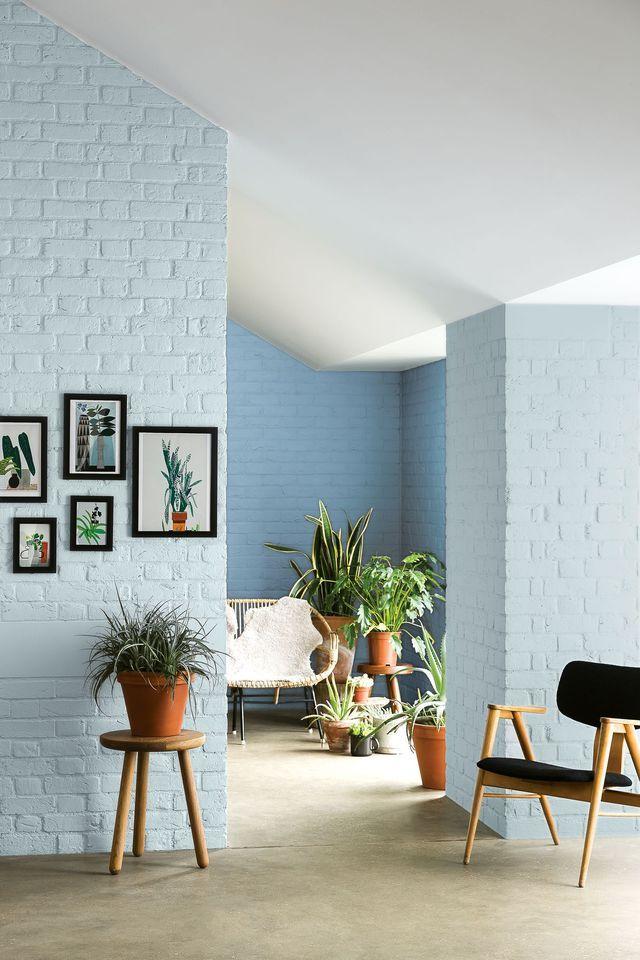 1000 id es propos de murs int rieur de briques sur for Peinture mur interieur maison