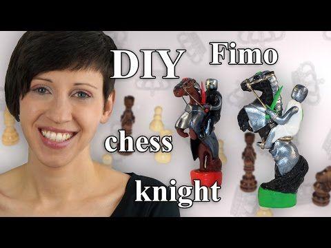 Polymer Clay Chess Piece Knight - Tutorial