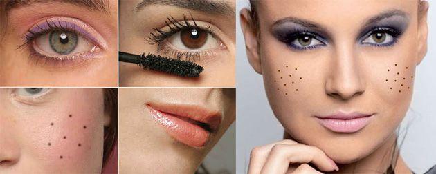 maquiagem caipira infantil feminina - Dicas e sugestões para Festas Juninas! Acesse: https://pitacoseachados.wordpress.com #pitacoseachados