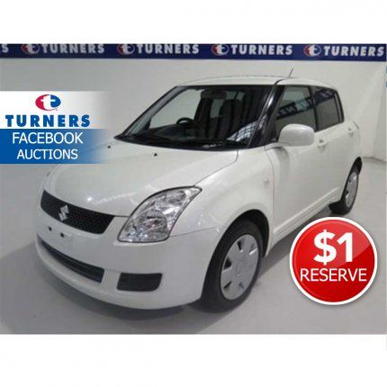 AUCTION ESTIMATE $8,000 - $10,000  $1 RESERVE! The perfect car for around town – small enough to fit in the tiniest of parking spaces but has the necessary features to keep you safe on the road. With a 1.3L engine you'll save heaps on fuel and it's got a brand new WOF issued through to Feb
