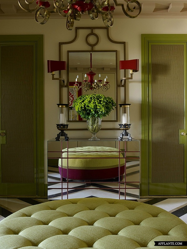 Gorgeous Apartment in Moscow // Kirill Istomin | Afflante.com