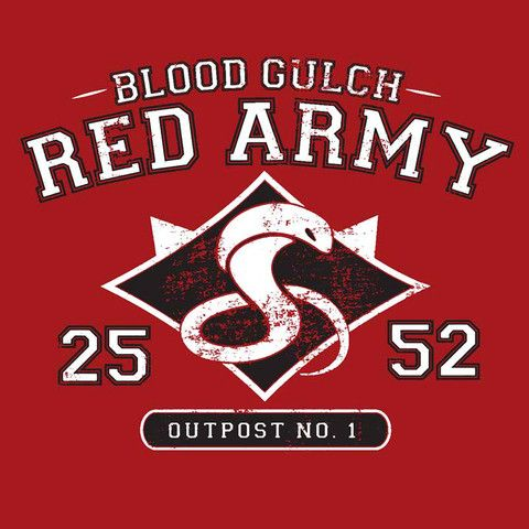 RvB Blood Gulch Red Team Shirt | Rooster Teeth Store