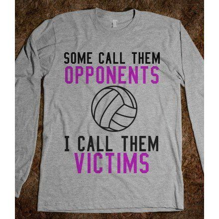Volleyball Victims - Volleyball - Skreened T-shirt ($26.99)