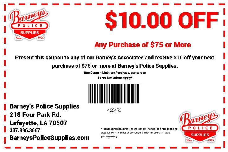 Barneys Police Supplies |